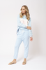 Alessandra Razz sweat pant in baby blue