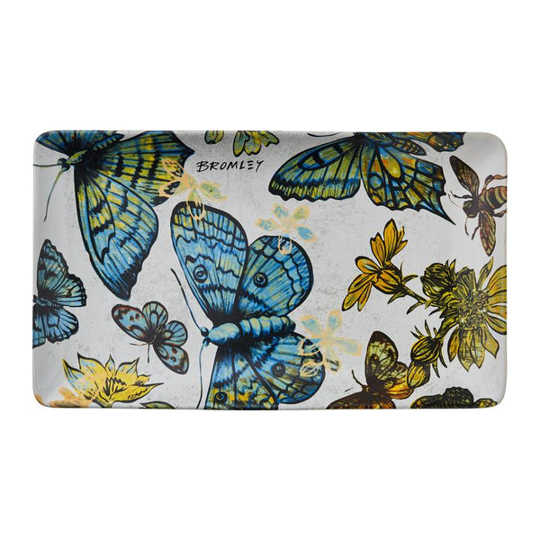 Robert Gordon | BROMLEY RECTANGLE PLATTER | Butterflies