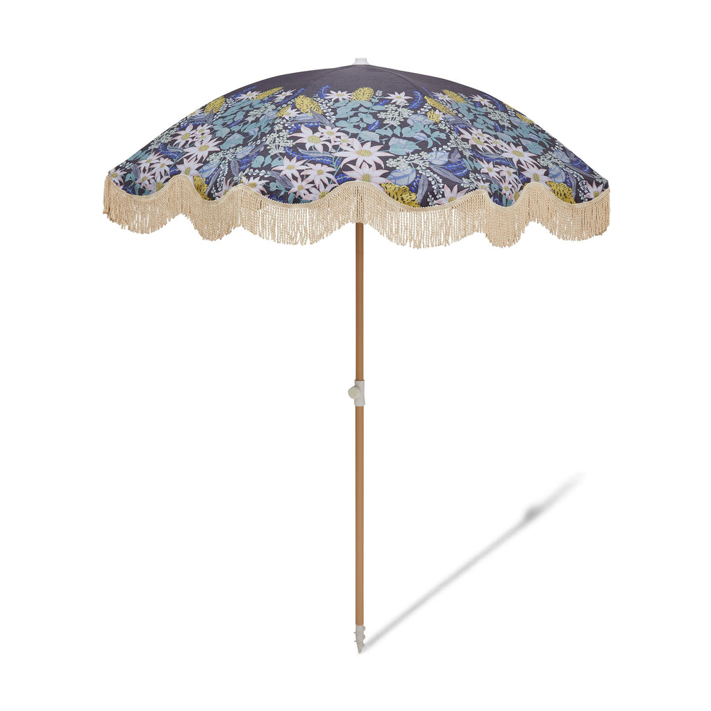 BEACH UMBRELLA | Flora Native Bloom | Salty Shadows