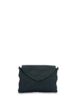 Bahru Leather Singapore crossbody bag in French navy