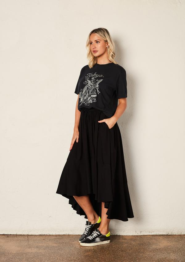 WE ARE THE OTHERS | THE FULL CIRCLE SKIRT | Black