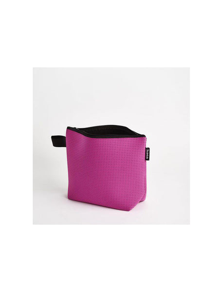 Base Supply large neoprene Stash Bag in fuchsia