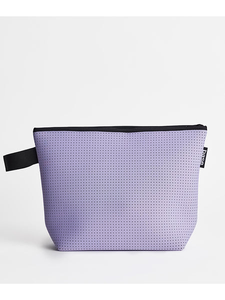 Base Supply large neoprene Stash Bag in lilac