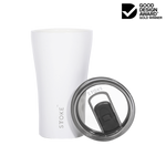 Sttoke takeaway coffee cup 12oz white