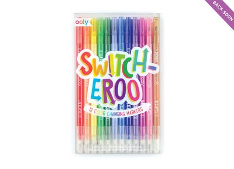 SWITCHEROO MARKERS | 12 pack