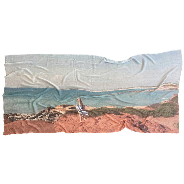 URBAN FABLE COTTON SCARF | Broome