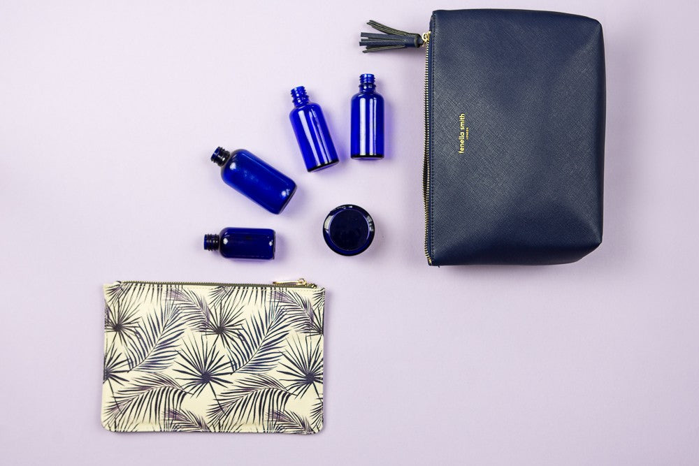 WASH BAG | Navy | Fenella Smith