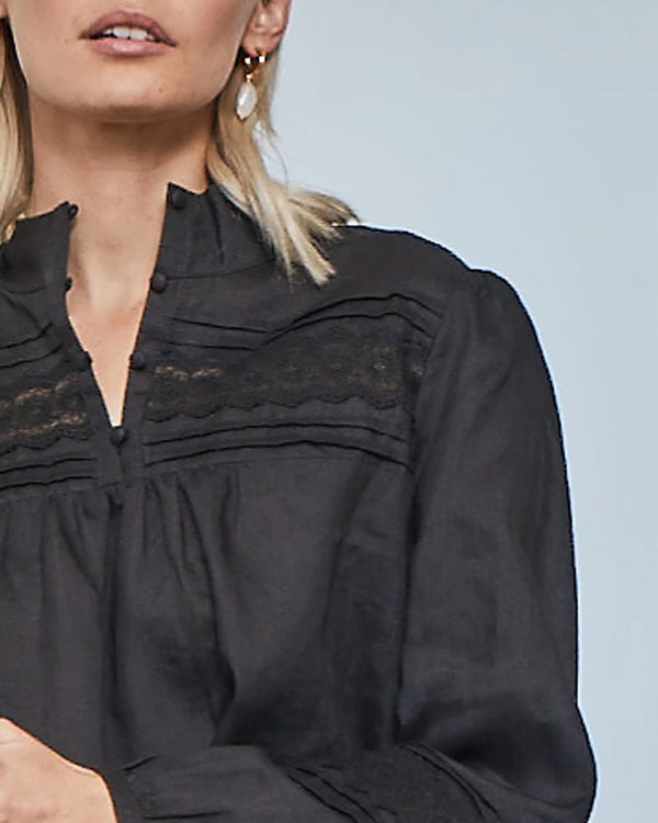 ILK TOP | Black | Zoe Kratzmann
