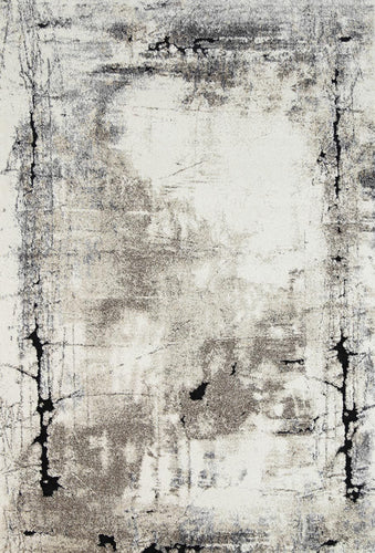 Samantha Abstract Beige Grey Rug