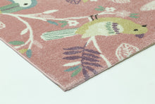Load image into Gallery viewer, Nova Kids Pastel Birds Rug Pink