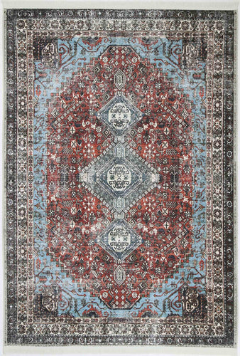 VINTAGE EMPRESS RUGY-BLUE-ANTHRA RUG
