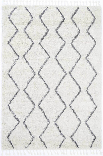 Casablanca Levi Tribal Cream Rug