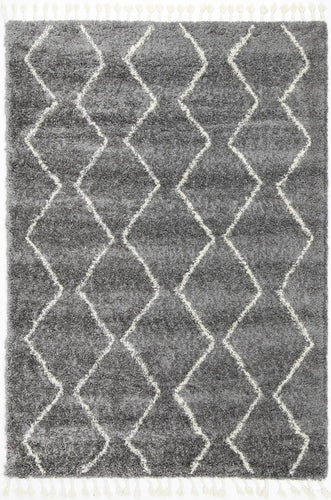 Casablanca Levi Tribal Grey Rug