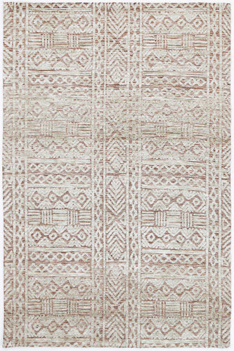 Barkot Tribal Rust Rug freeshipping - Rug Empire