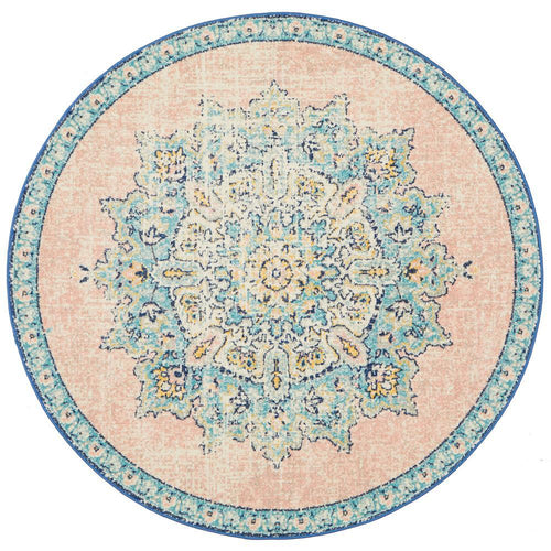 Palace 706 Flamingo Round Rug