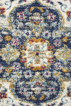 Load image into Gallery viewer, Babylon 202 Blue Runner Rug