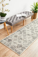 Load image into Gallery viewer, Century 999 Grey Runner Rug