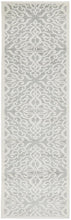 Load image into Gallery viewer, Victoria Silver Runner Rug freeshipping - Rug Empire