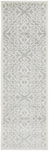 Victoria Silver Runner Rug freeshipping - Rug Empire