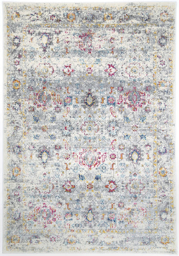 Mosman Multi Grey Traditional Rug - Rug Empire