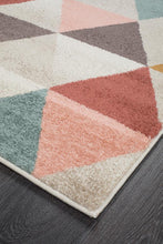 Load image into Gallery viewer, Dimensions Divinity Order Blush Modern Runner Rug