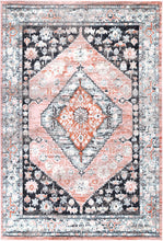 Load image into Gallery viewer, Florence Traditional Black Beige Rug freeshipping - Rug Empire