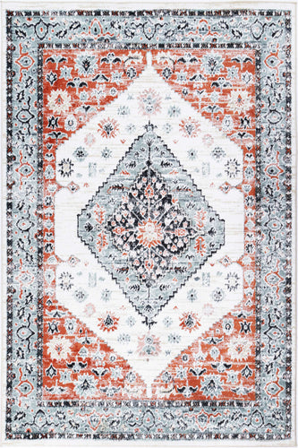 Florence Traditional Cream Terracotta Rug freeshipping - Rug Empire