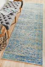 Load image into Gallery viewer, Evoke Duality Silver Transitional Runner Rug