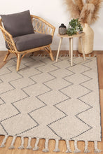 Load image into Gallery viewer, Sara Diamond Tassel Ash Rug freeshipping - Rug Empire