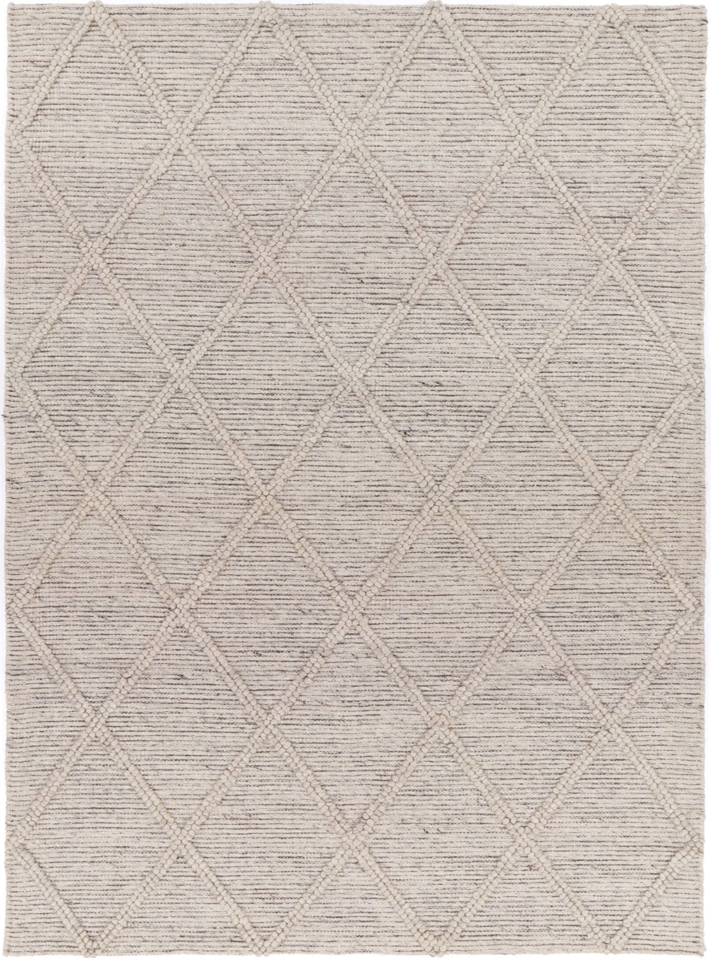 Sara Diamond Braided Ash Rug freeshipping - Rug Empire