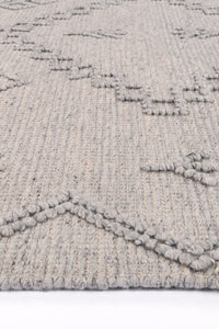 Sara Boho Chic Grey Rug freeshipping - Rug Empire
