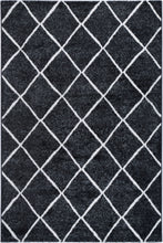 Load image into Gallery viewer, Paisley Diamond Charcoal Rug freeshipping - Rug Empire