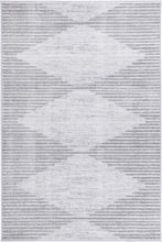 Load image into Gallery viewer, Paisley Abstract Diamond Grey Rug freeshipping - Rug Empire