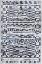 Load image into Gallery viewer, Paisley Tribal Blue Rug freeshipping - Rug Empire