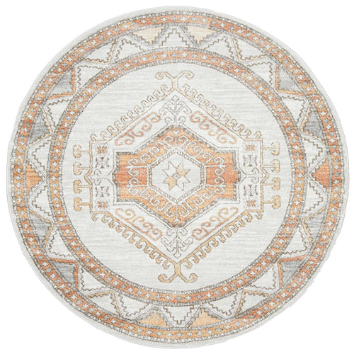 Jervis Natural Round Rug freeshipping - Rug Empire