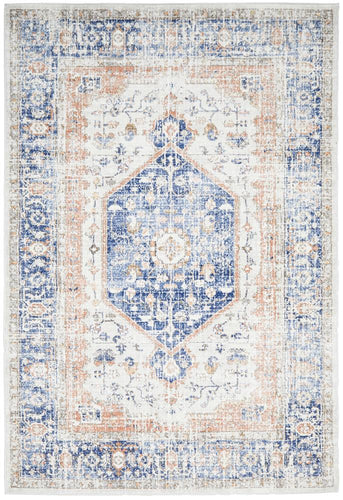 Jervis Blue Rug freeshipping - Rug Empire