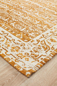 Newtown 88 Mustard Rug - Rug Empire