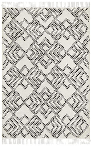 Loom Symphony White Rug - Rug Empire