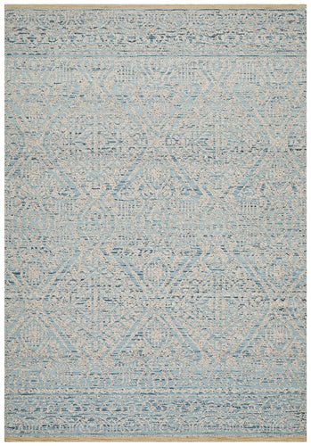La Perouse Blue Grey Rug - Rug Empire