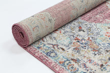 Load image into Gallery viewer, Sans Souci Medalion Transitional Blush Rug - Rug Empire