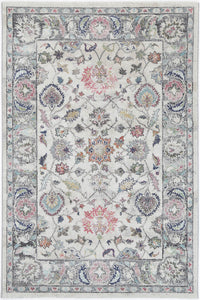 Sans Souci Transitional Cream Rug - Rug Empire
