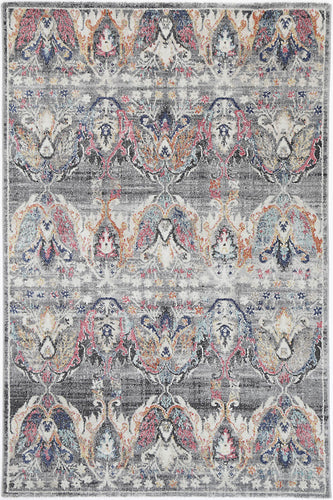 Sans Souci Transitional Muted Mullti Rug - Rug Empire