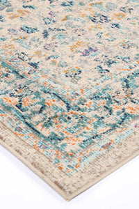 Asmee Multi Traditional Rug freeshipping - Rug Empire