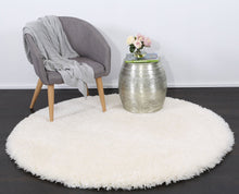 Load image into Gallery viewer, Flokati Shag Rug White