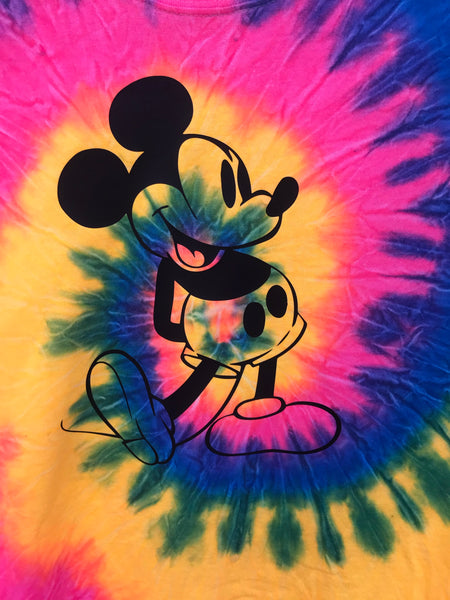 Tie Dye Mr. Mouse Shirt