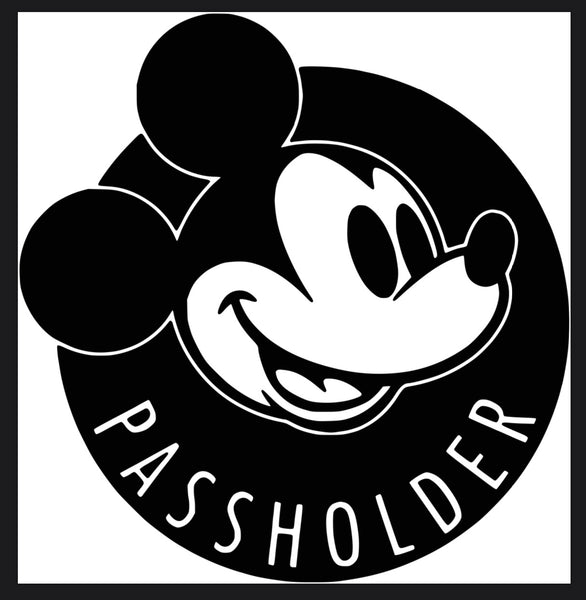 Passholder Vinyl Decal