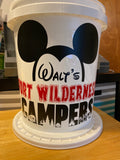 Walt's Fort Wilderness Camping Bucket
