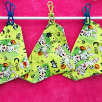 Halloween Doggy Bandanas (Orange material available only)