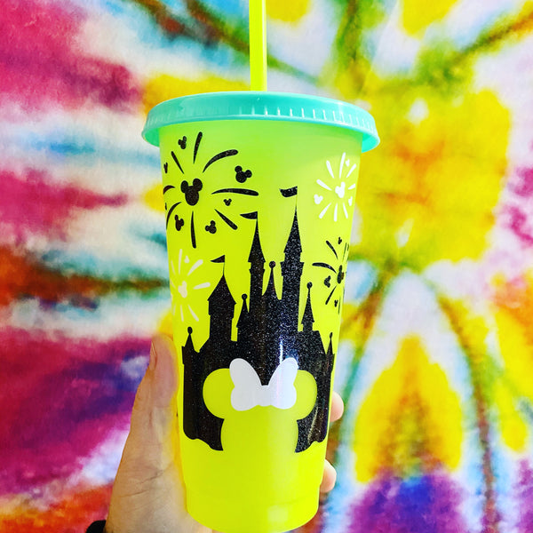 Color Changing Castle cup