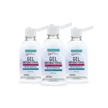 Kit x 3 unidades Gel Antibacterial